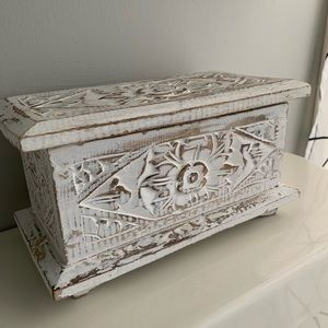Other - Carved Wooden Box